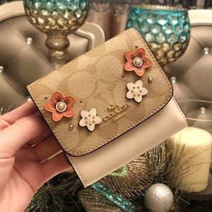 new Coach small wallet